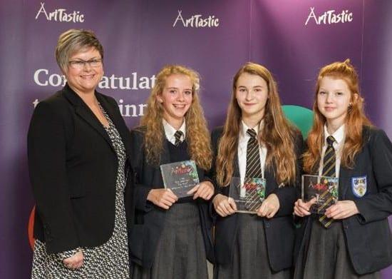 Bridgewater Pupils Scoop Art Prize