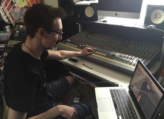 Recording Studio Visit