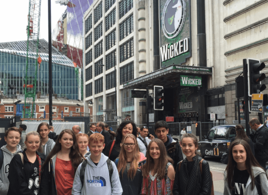 """A """"Wicked"""" Day-out to London!"""
