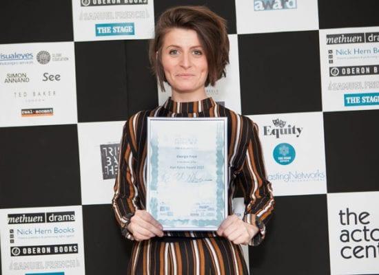 Ex-pupil wins The Alan Bates Award