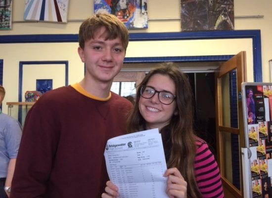 Bridgewater students shine in new style GCSEs
