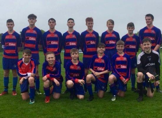 Y9 Boys Football – Warrington Champions