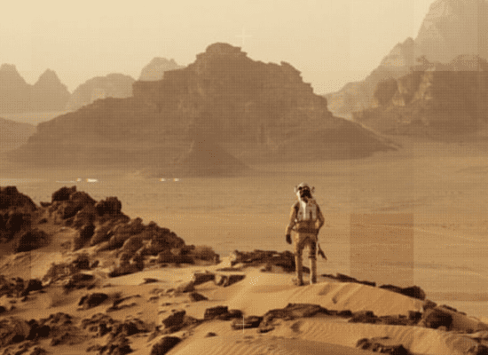 Constructing a Life on Mars