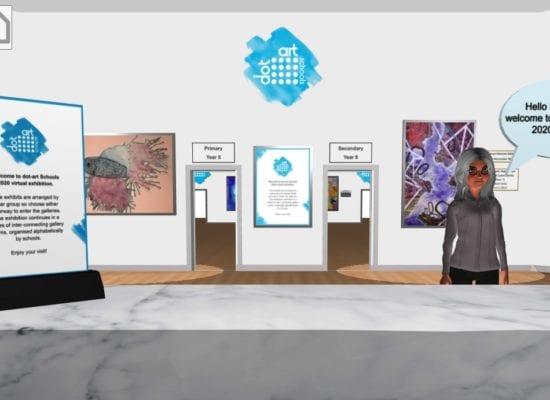 Olivia's virtual gallery space!